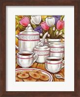 Framed Coffee Sugar Cream