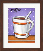 Framed Good Morning Cafe Coffee