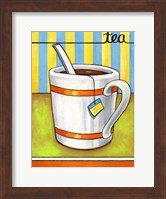 Framed Good Morning Cafe Tea