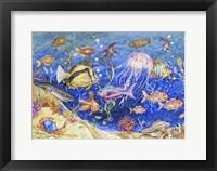 Framed Underwater Menagerie