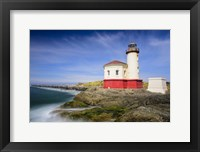 Framed Coquille River Light
