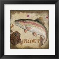Framed Trout