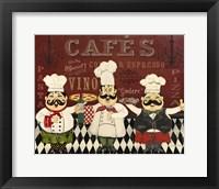 Framed Italian Chefs - D