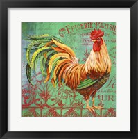 Framed Le Rooster - A