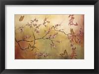 Framed Butterfly Santuary - A