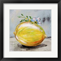 Abstract Kitchen Fruit 1 Framed Print