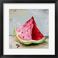 Abstract Kitchen Fruit 3 Framed Print
