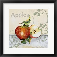 Tutti Fruiti Apples Framed Print
