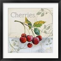 Framed Tutti Fruiti Cherries