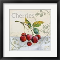 Tutti Fruiti Cherries Framed Print