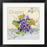 Tutti Fruiti Grapes Framed Print