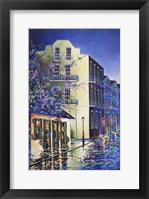 Framed Jean Lafitte Bar