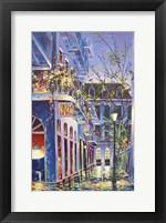 Framed Pirates Alley Cafe Spring