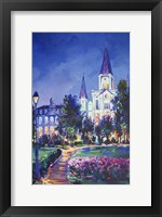 Framed St Louis Cathedral