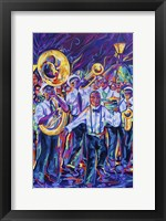 Framed Treme Second Line