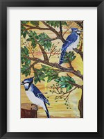 Framed Monica's Jays