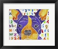 Framed Kessel the French Bulldog
