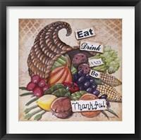 Framed Be Thankful