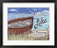 Framed Boat Relaxing