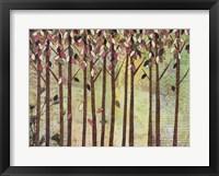 Framed Fall Trees