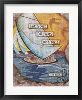 Framed For Sail
