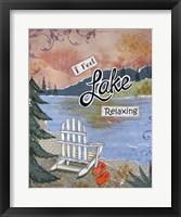 Framed Lake Relaxing