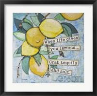 Framed Lemony Life