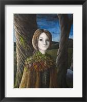 Framed Autumn Girl