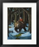 Framed Ellen and the Bear