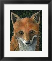 Framed Little Fox II