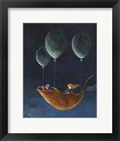 Framed Penelope and the Airship