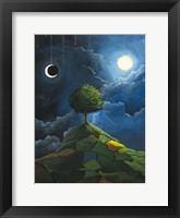 Framed Sun Moon Stars