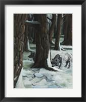 Framed Wolves