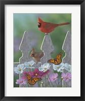 Framed Royalty Cardinals Monarchs