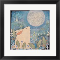 Framed Rabbit and Moon