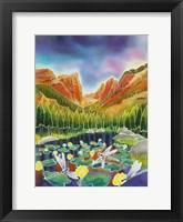 Framed Rocky Mountain Summer