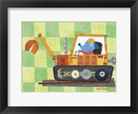 Animal Transporters 2 Framed Print