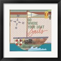 Framed Coastal Collage 10