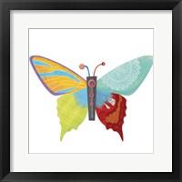 Framed Wings Of Grace Butterfly Icon 2