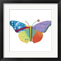 Framed Wings Of Grace Butterfly Icon 3