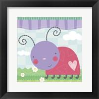 Framed Ladybug