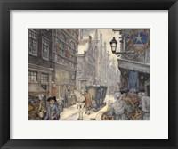 Framed Street Alley
