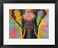 Framed Eleph