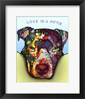 Framed Love Is A Pittie