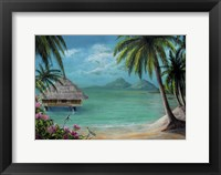 Framed Tahiti Getaway