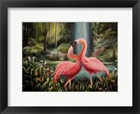 Framed Flamingo Flamenco