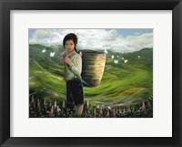 Framed Child of Vietnam