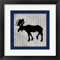 Blue Bear Lodge Icon 3 Framed Print