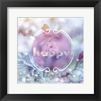 Cherry Blu Sign 1 Framed Print