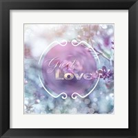 Cherry Blu Sign 2 Framed Print